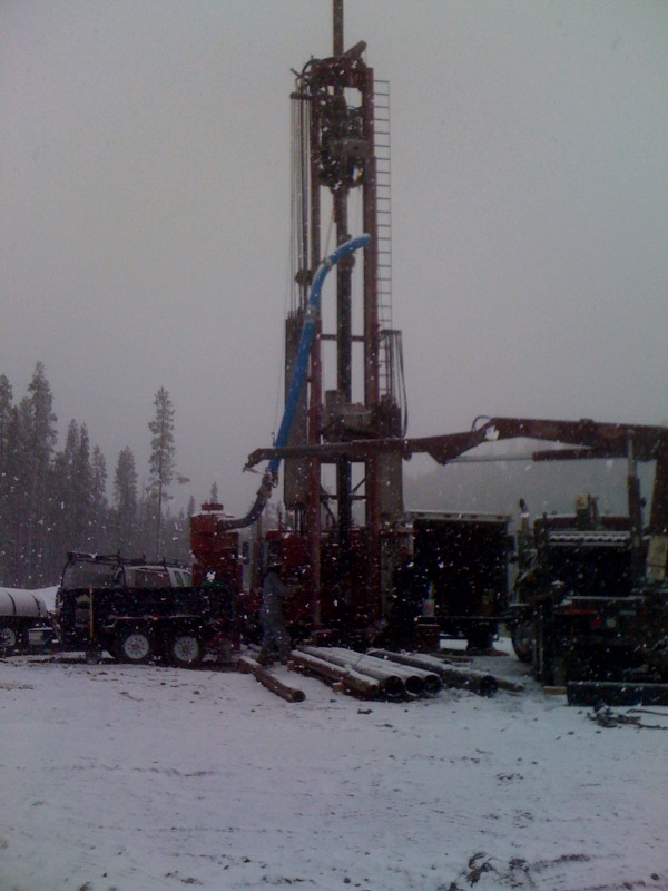 Water well drilling rig - AltaRock Energy