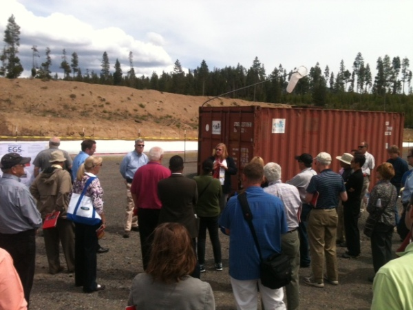 Tour of AltaRock Energy's Newberry EGS Demonstration near Bend, OR