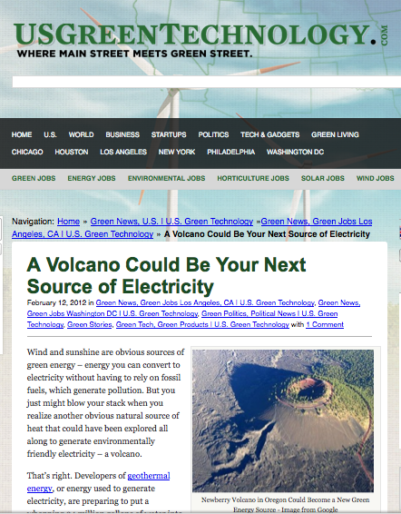 A Volcano Could Be Your Next Source of Electricity