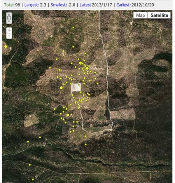 PNSN Map